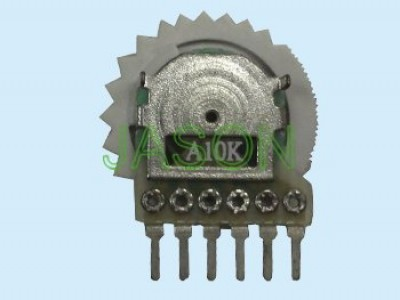 R102A6-1A 8-10mm Potentiometers