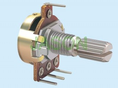 R160T3-30 16mm Rotary Potentiometers