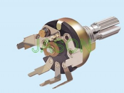 R170S-43 17mm Rotary Potentiometers