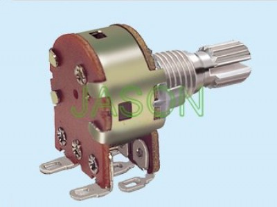 R162S3-10 With Switch Potentiometers