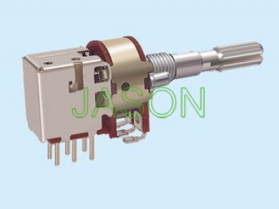 R162PS-10 With Switch Potentiometers