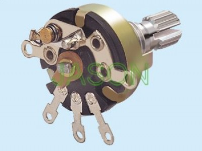 R170S-10 With Switch Potentiometers